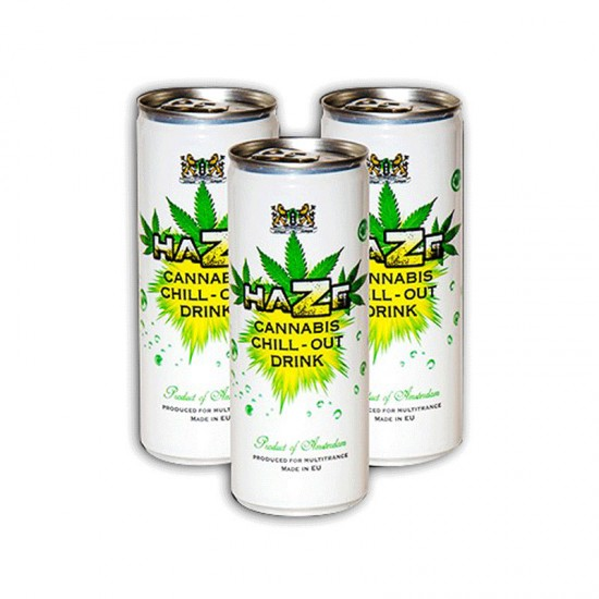 Cannabis Energy Drink Amsterdam Chillout white 250ml