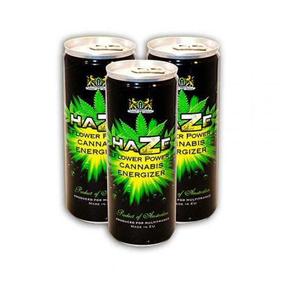 Cannabis Energy Drink Haze black 250m